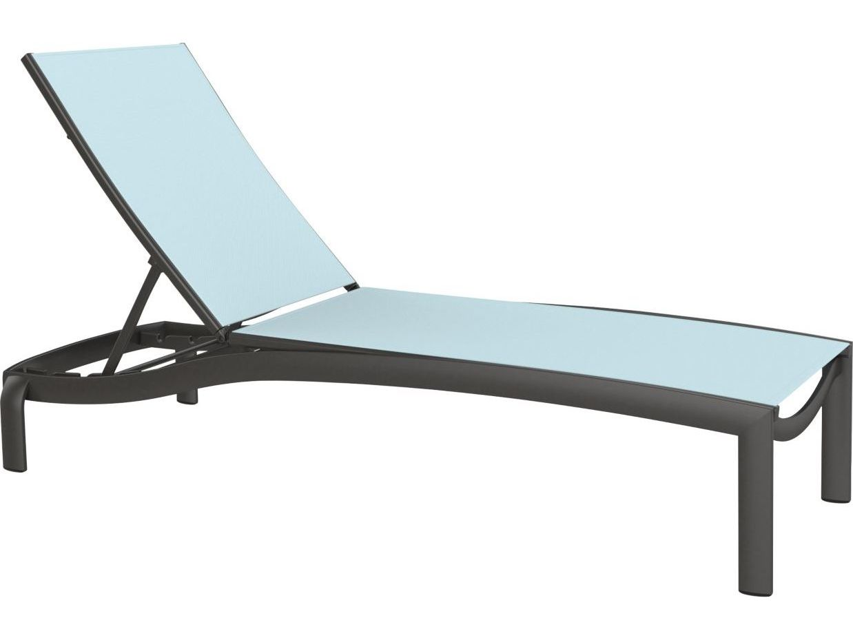 tropitone lounge chairs living room chaise kor relaxed sling aluminum armless touch to zoom