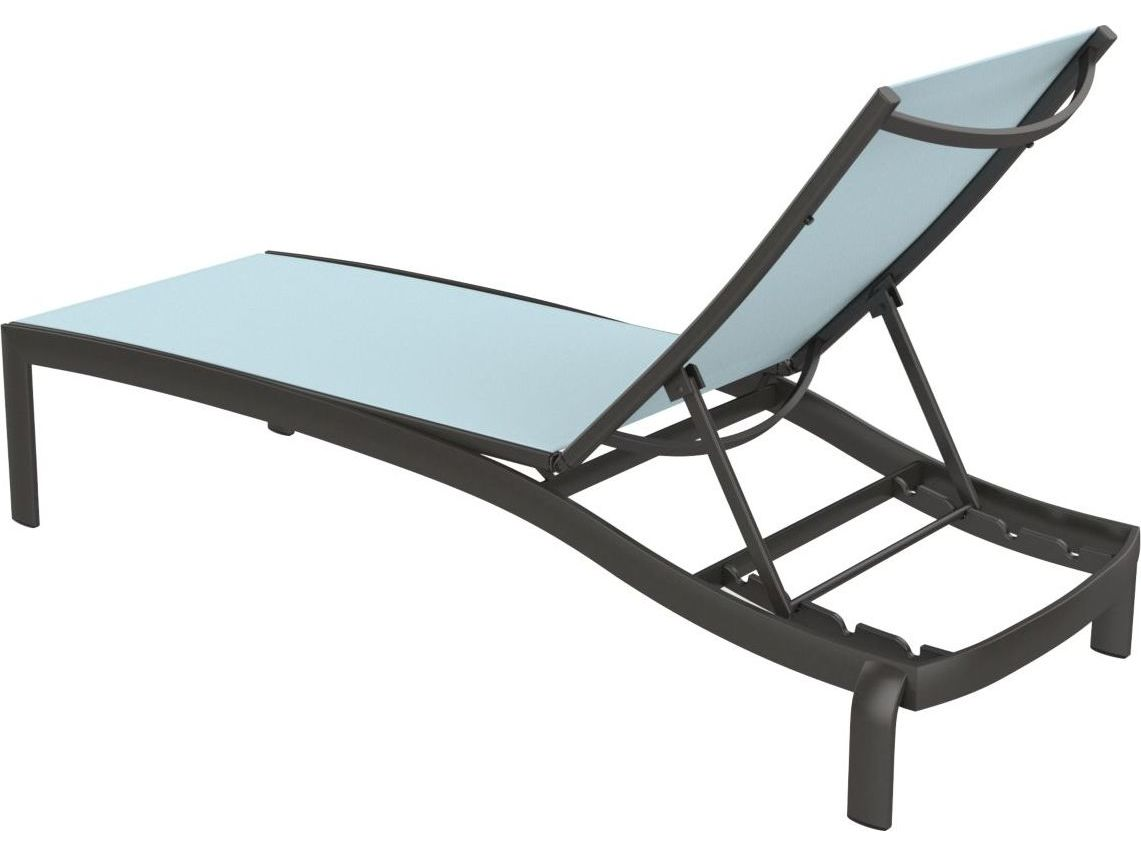 Sling Chaise Lounge Chair Tropitone Kor Relaxed Sling Aluminum Chaise Lounge Armless