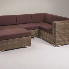 Tropitone Lounge Chairs Cream Leather Dining With Oak Legs Arzo Woven Cushion Center Module Chair