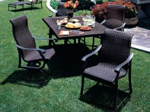 Tropitone Montreux Woven Dining Chairs 710101ws