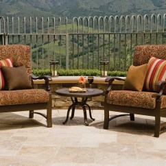 Tropitone Lounge Chairs Whiskey Barrel And Table Ravello Cushion Aluminum Chair 660911