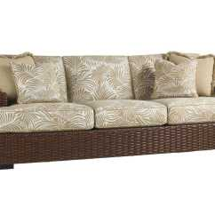 Wicker Sofas Sofa Mart Chair And A Half Tommy Bahama Outdoor Ocean Club Pacifica | 3130-33