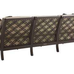 Black Aluminum Outdoor Sofa Alex Review Tommy Bahama Sands Cast Cushion