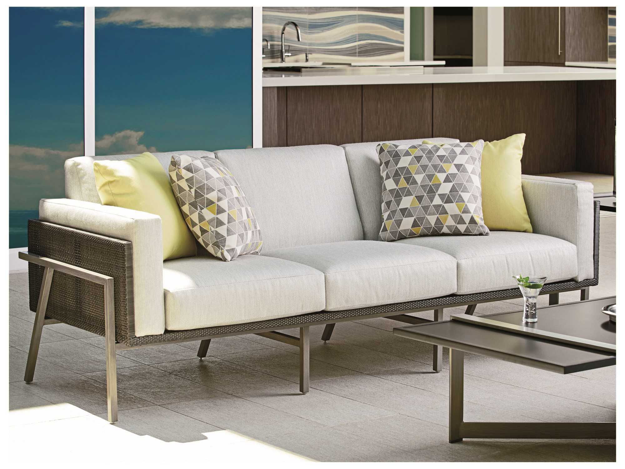 del mar custom sectional sofa difference couch davenport tommy bahama outdoor 3800 33