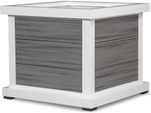 Trex Outdoor Furniture Cube 24'' Planter 3 Board In Satin