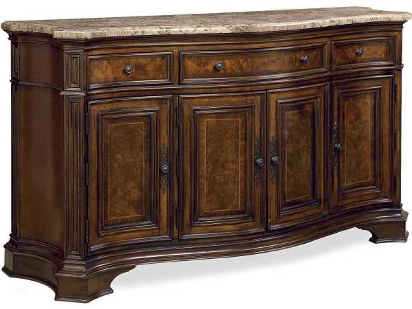 Universal Furniture Marble Top Credenza