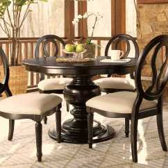 Adirondack Chairs Fire Pit Gray Tufted Set Of 2 Universal Furniture Summer Hill 70'' Round Midnight Dining Table | Uf988656
