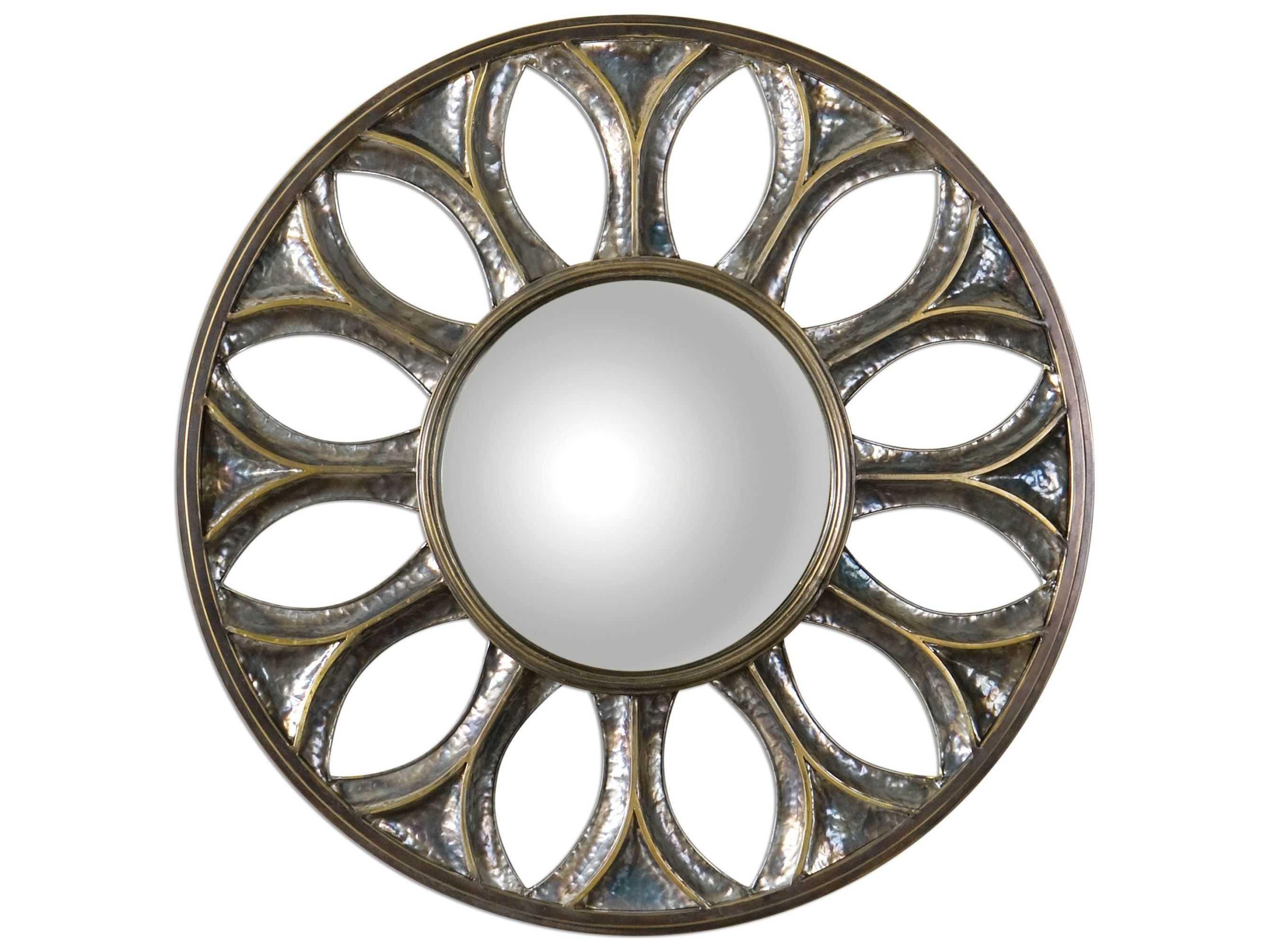 Uttermost Yenisey 36 Round Bronze Wall Mirror
