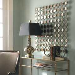 Aluminum Bistro Chairs Party Rental Uttermost Dinuba 40 X Antique Silver Champagne Wall Mirror | Ut12793