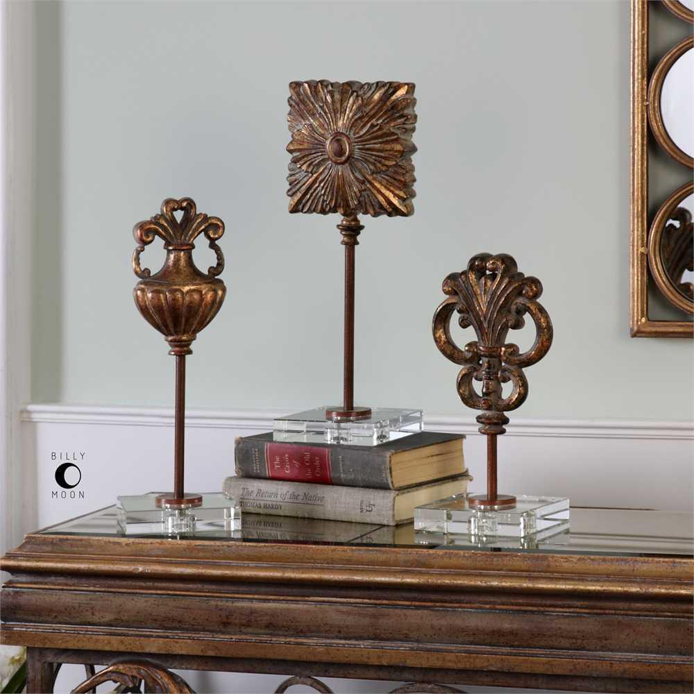 Uttermost Cesare Gold Decorative Table Top Accessories