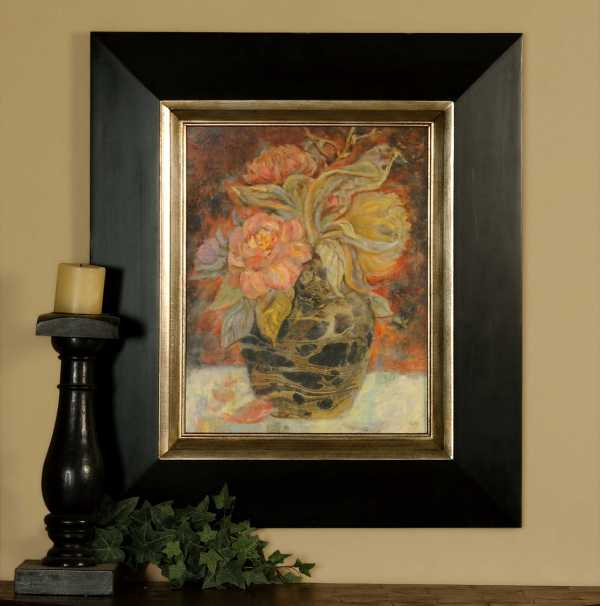 Uttermost Floral Bunda Framed Wall Art Ut33439