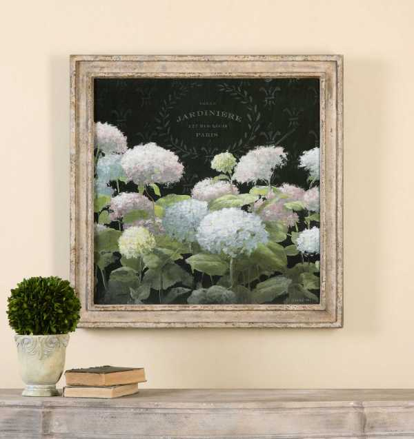 Uttermost La Belle Jardiniere Crop Framed Wall Art Ut56056
