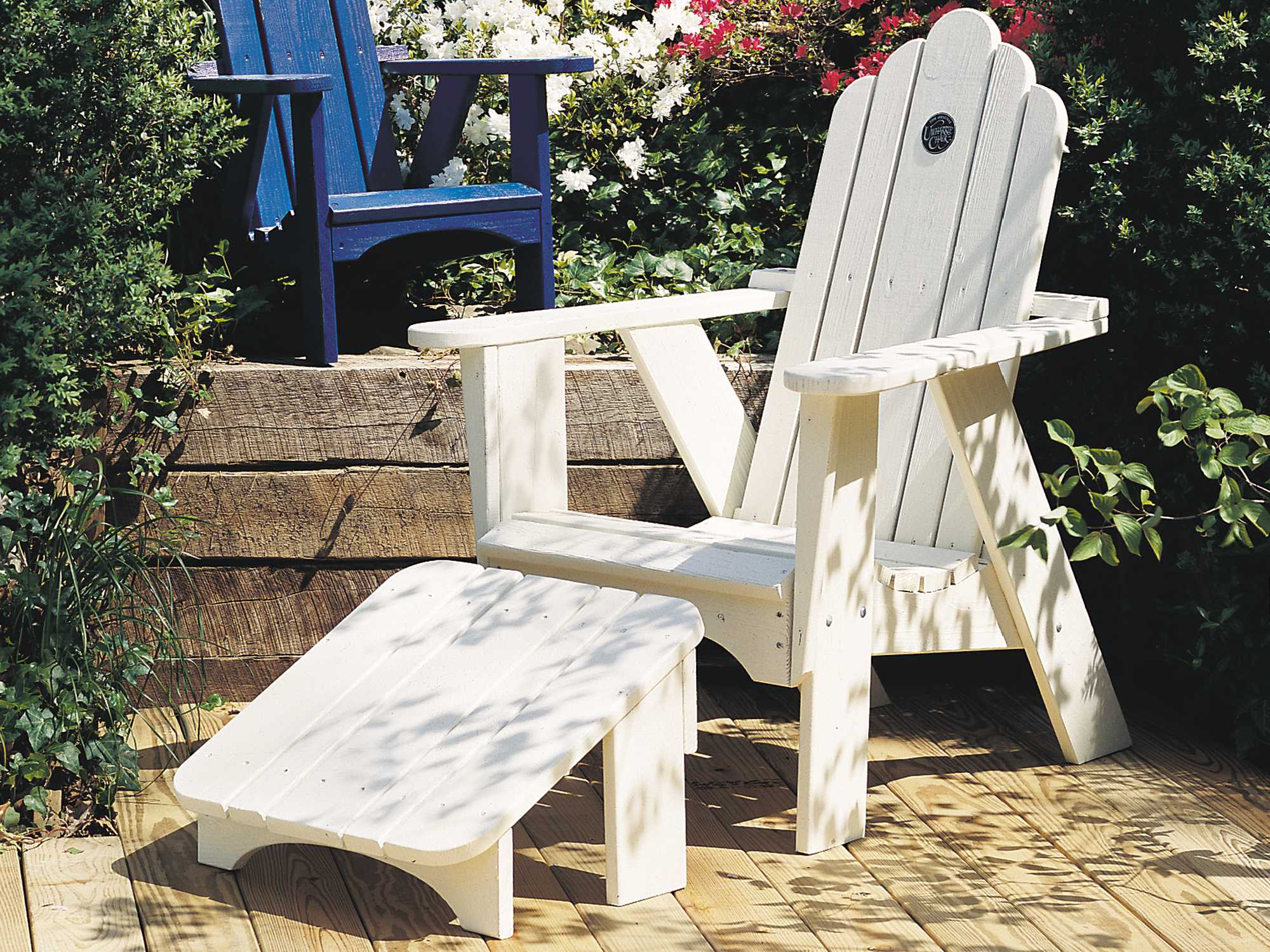 Uwharrie Chair Original Wood Arm Adirondack Chair  1011