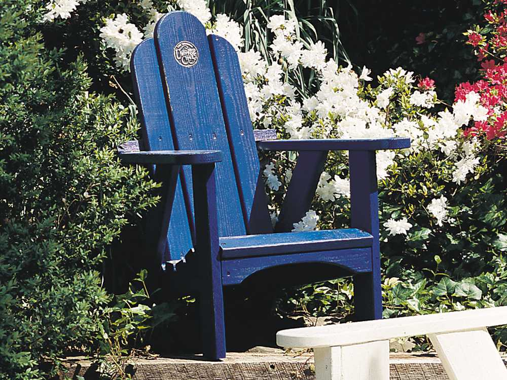 Uwharrie Chair Original Wood Arm Child Size Adirondack