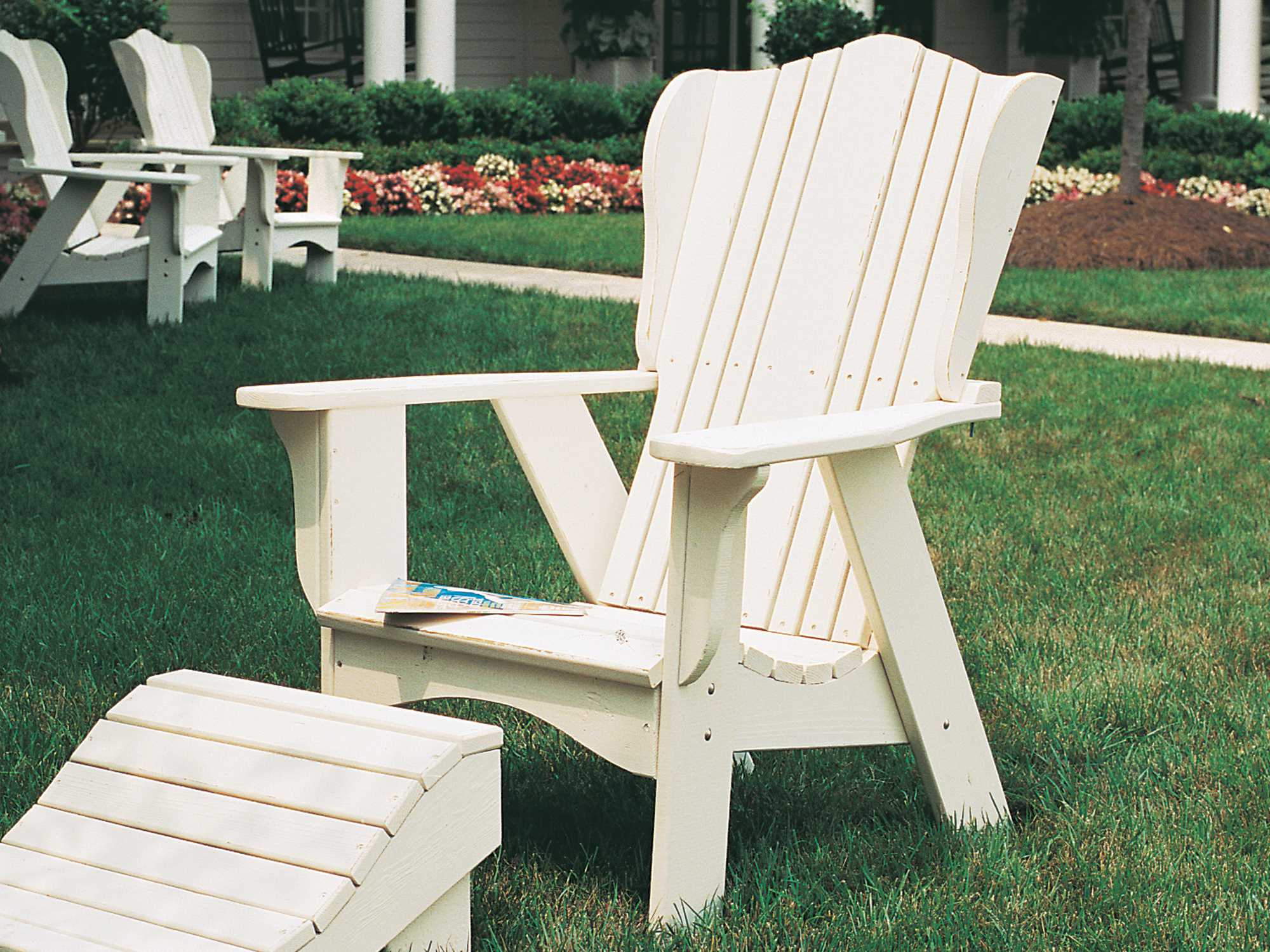 Uwharrie Chair Plantation Series Wood Adirondack Chair  3011