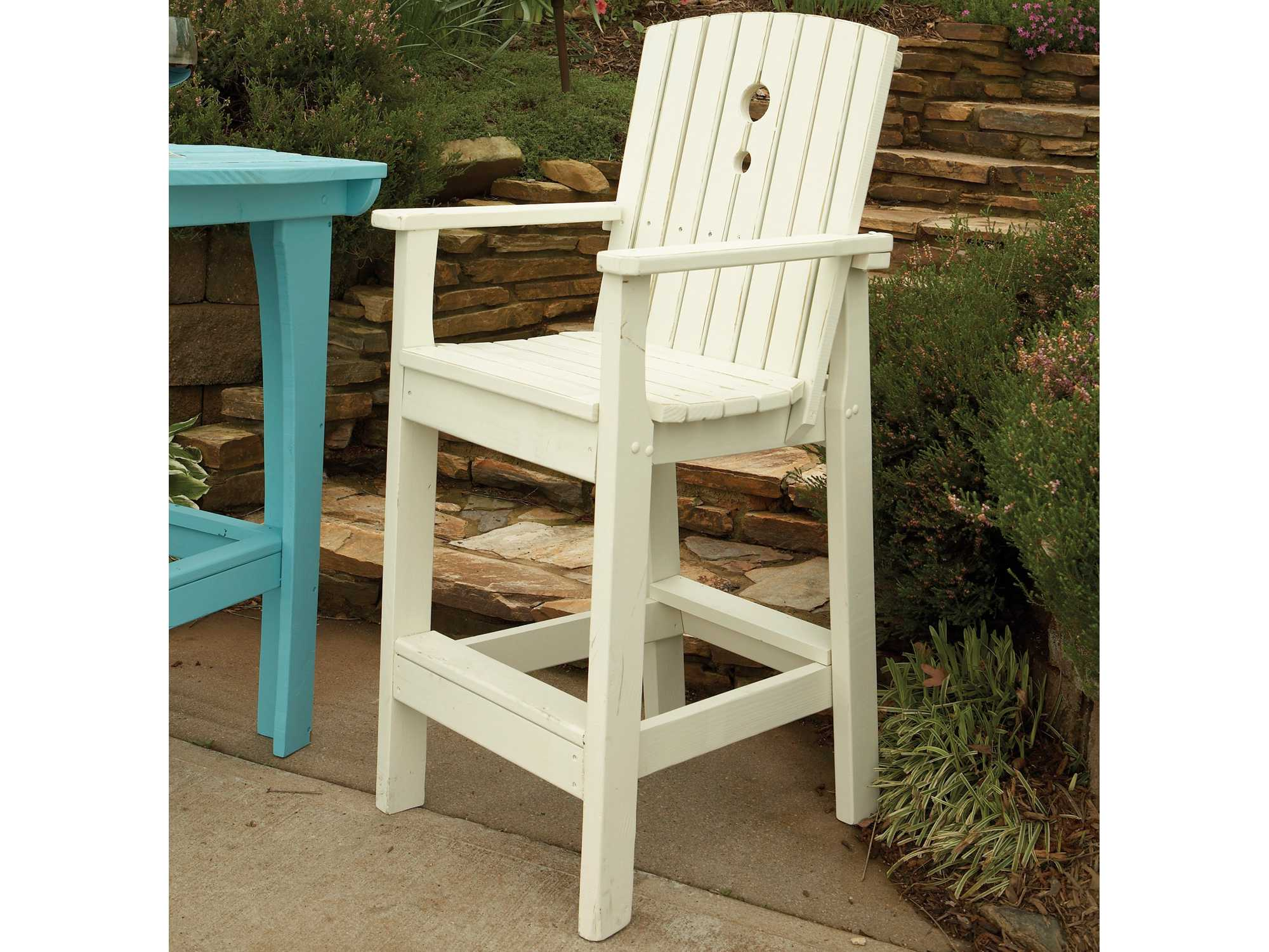 Uwharrie Chair Companion Series Wood Tall Dining Chair  5064