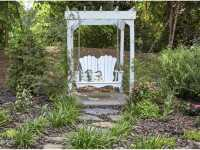 Uwharrie Chair Veranda Wood Swing   V052