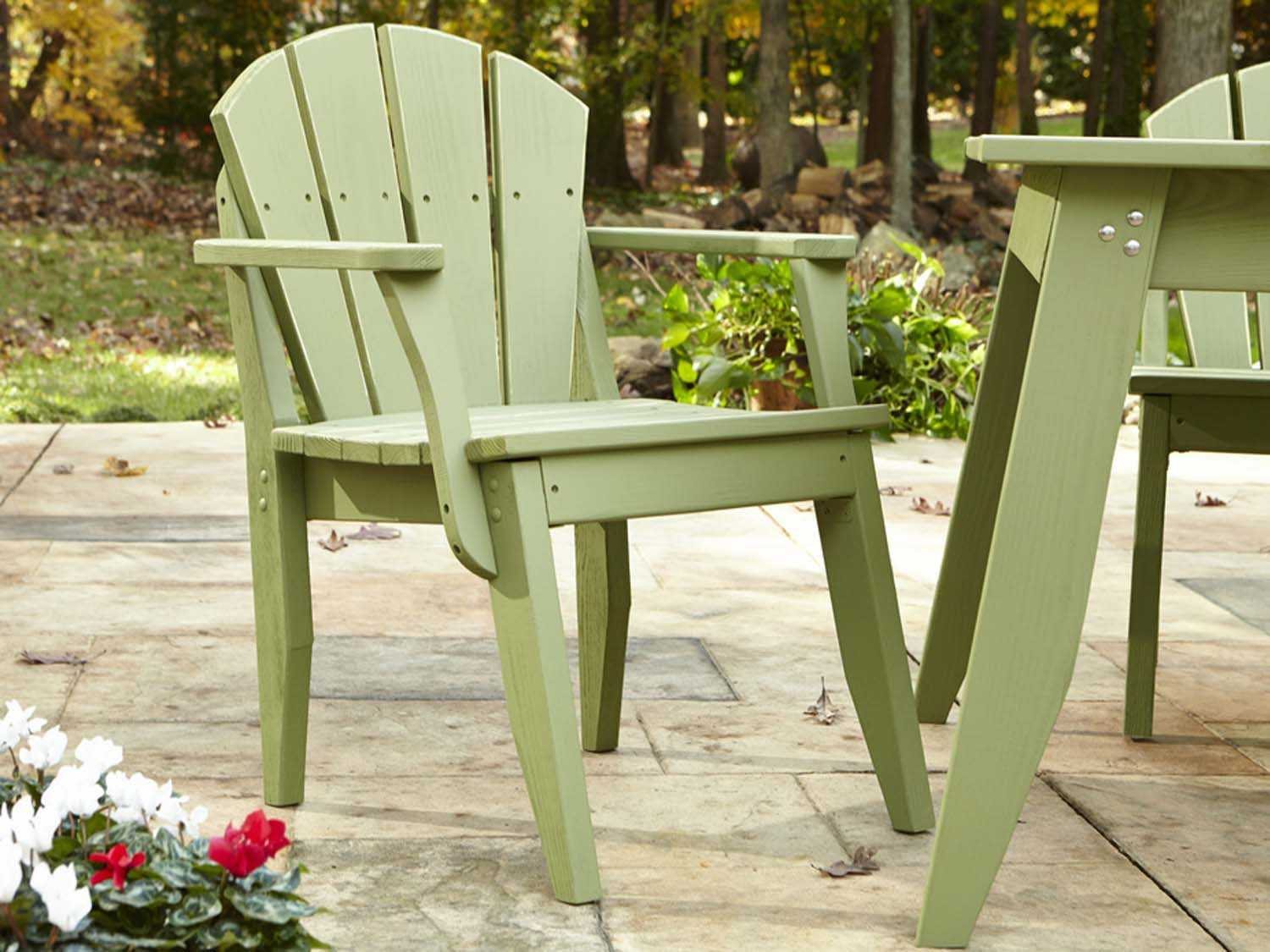 Uwharrie Chair Plaza Wood Dining Set  PLDINSET
