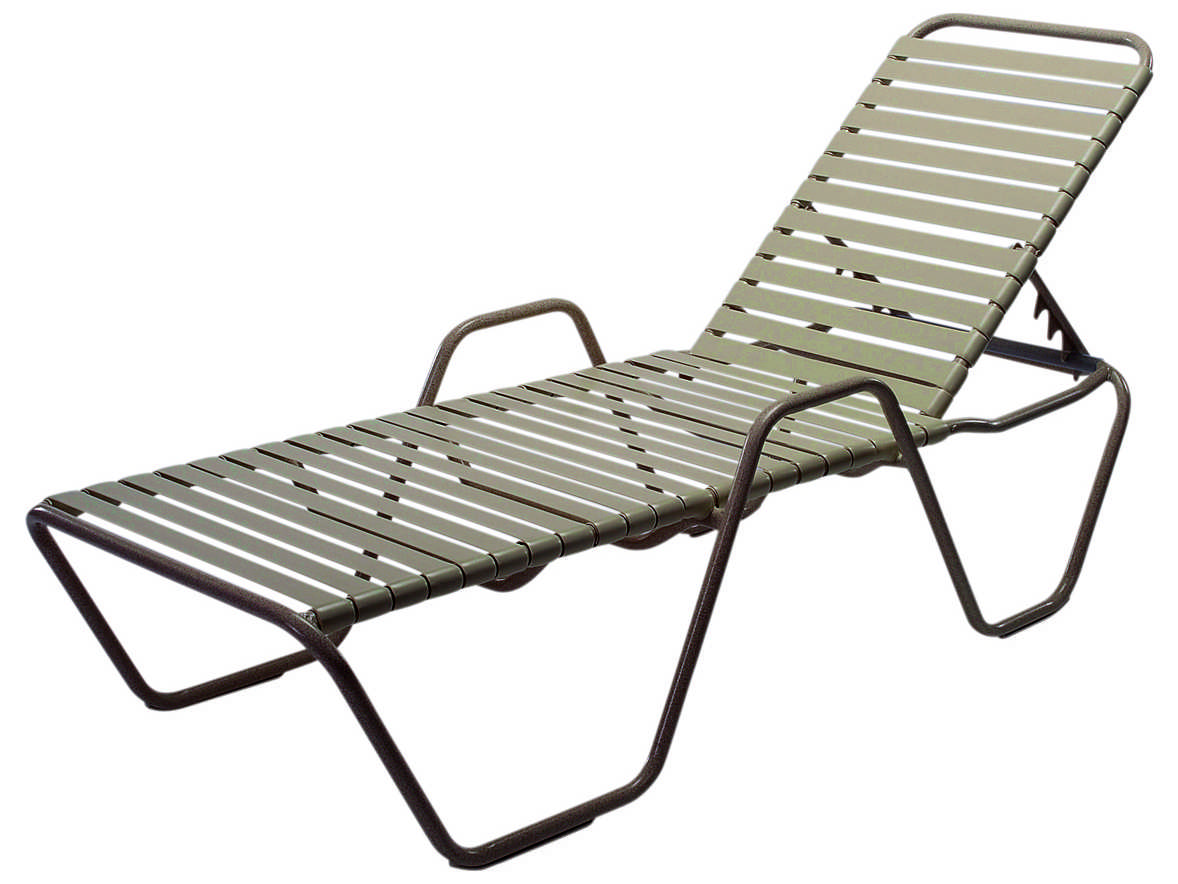 lounge chair replacement straps revolving barber windward design group country club strap aluminum skids