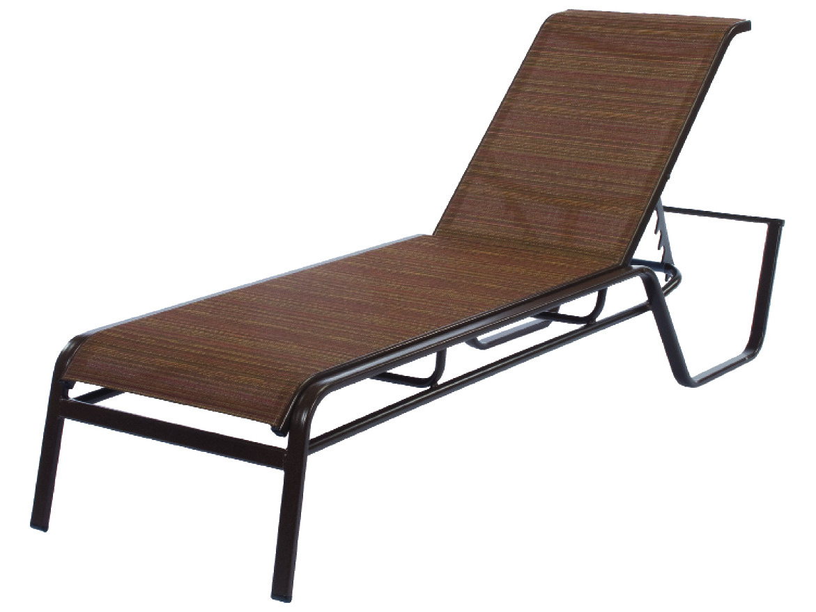 Commercial Pool Lounge Chairs Windward Design Group Monterey Sling Aluminum Chaise