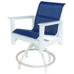 Cape Cod Chairs Metal Outdoor Retro Windward Design Group Sling Mgp Swivel Balcony