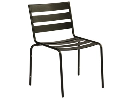 outdoor dining chairs sale la z boy martin big and tall executive office chair for luxedecor woodard cafe series wrought iron in textured black
