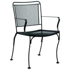 Wrought Iron Dining Chairs Hanging Chair In Balcony Woodard Constantine 130001 Hover To Zoom