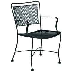 Wrought Iron Dining Chairs Chair Cover Hire Forest Of Dean Woodard Constantine Wr130009 Touch To Zoom