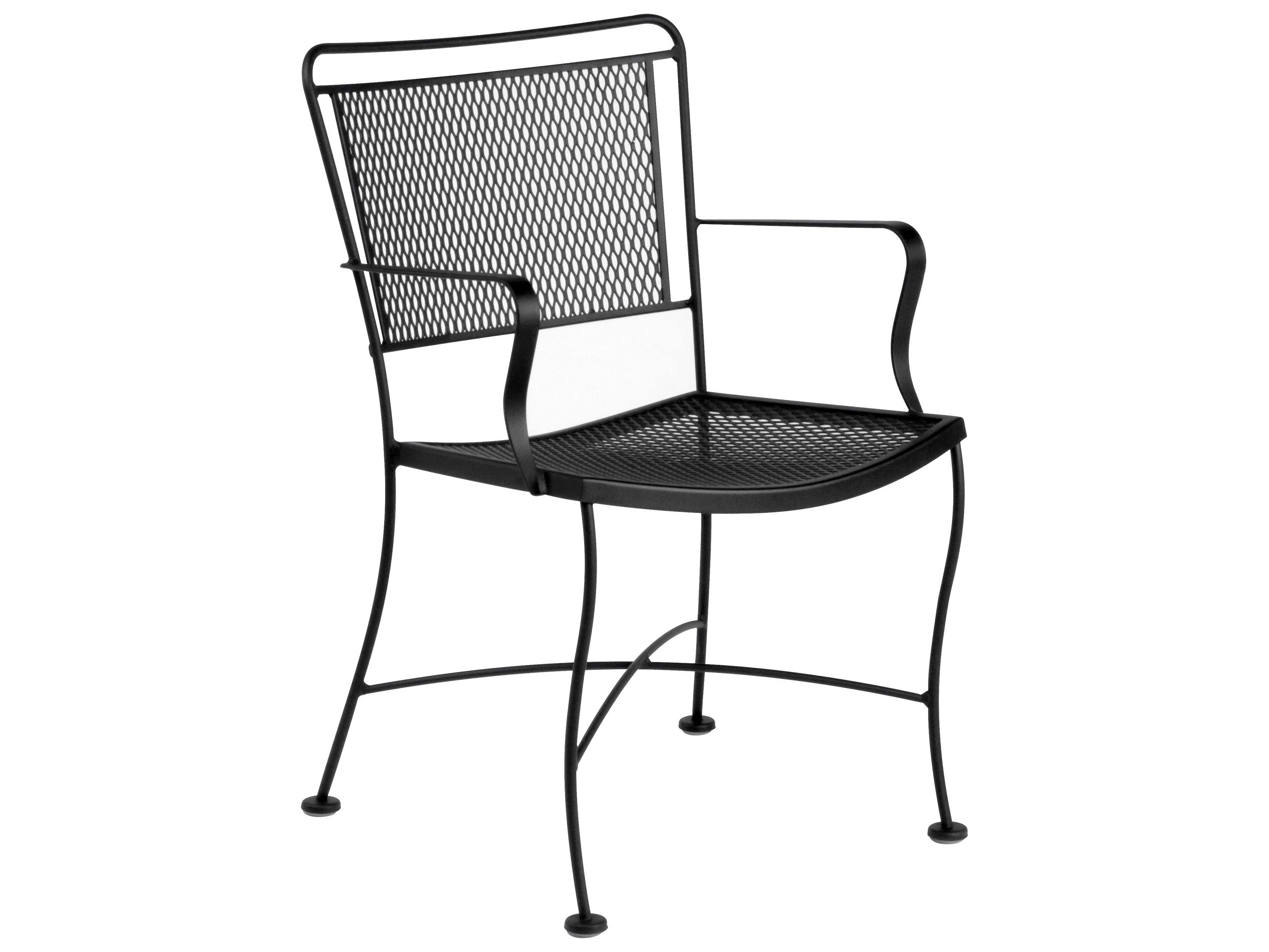 wrought iron chair cushions back support for office bed bath beyond woodard constantine dining wr130009