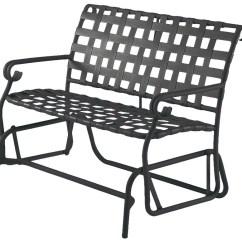 Lounge Chair Replacement Straps Gentlemans Woodard Ramsgate Aluminum Gliding Loveseat Wr160473