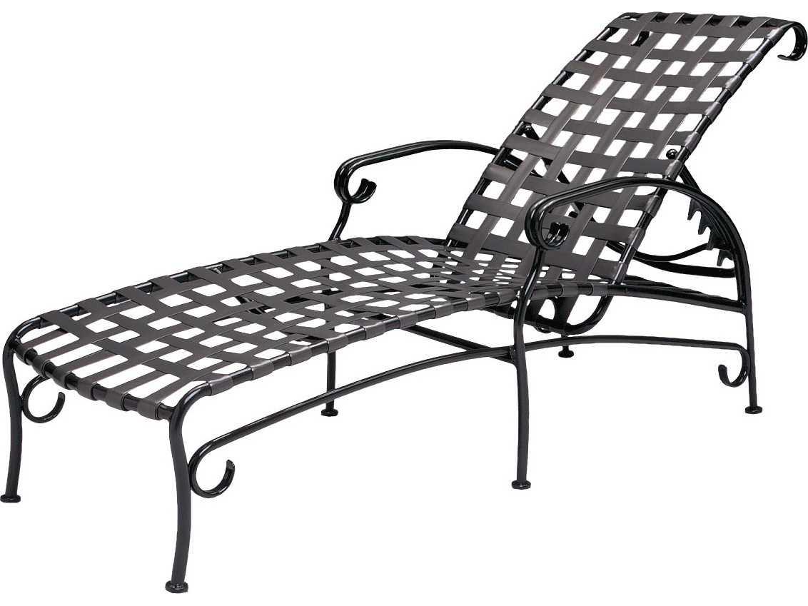 lounge chair replacement straps gamer walmart woodard ramsgate aluminum set gdral