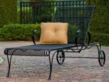 Woodard Tucson Wrought Iron Chaise Wr1g0070