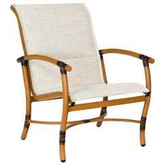Outdoor Chair Slings Zero Gravity Costco Woodard Glade Isle Padded Sling Aluminum Lounge 1q0506