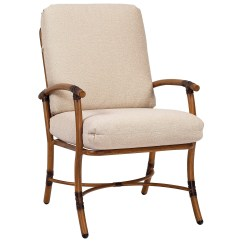 Restaurant Chair Repair Design For Dining Woodard Glade Isle Arm Replacement Cushions