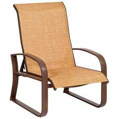 Sling Motion Patio Chairs Chair Lift Recliner Woodard Cayman Isle Aluminum Adjustable Lounge