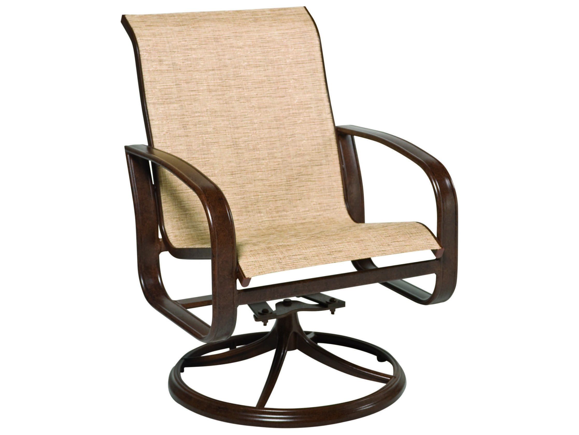 Sling Chairs Woodard Cayman Isle Sling Aluminum Swivel Rocker Wr2fx472