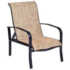 Sling Outdoor Sofa Baxton Woodard Fremont Aluminum Adjustable Lounge Chair