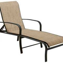 Folding Lounge Chair Canada Counter Height Kitchen Table And Chairs Woodard Fremont Sling Aluminum Adjustable Chaise