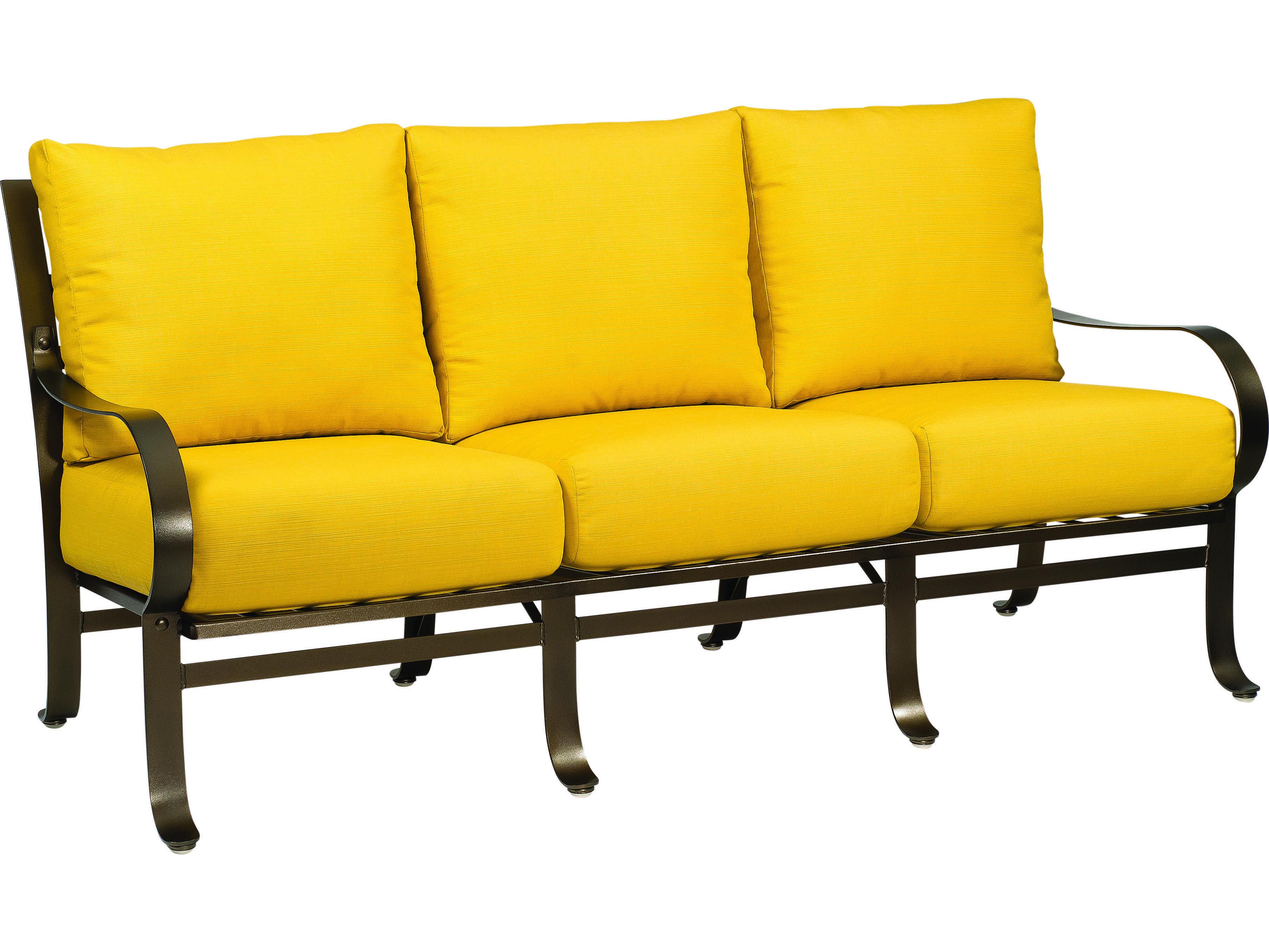 wrought iron sofa set online muji mold urethane review woodard cascade 2w0020