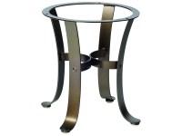 Woodard Cascade Wrought Iron End Table Base | 2W3900
