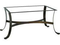 Woodard Cascade Wrought Iron Coffee Table Base | 2W4400