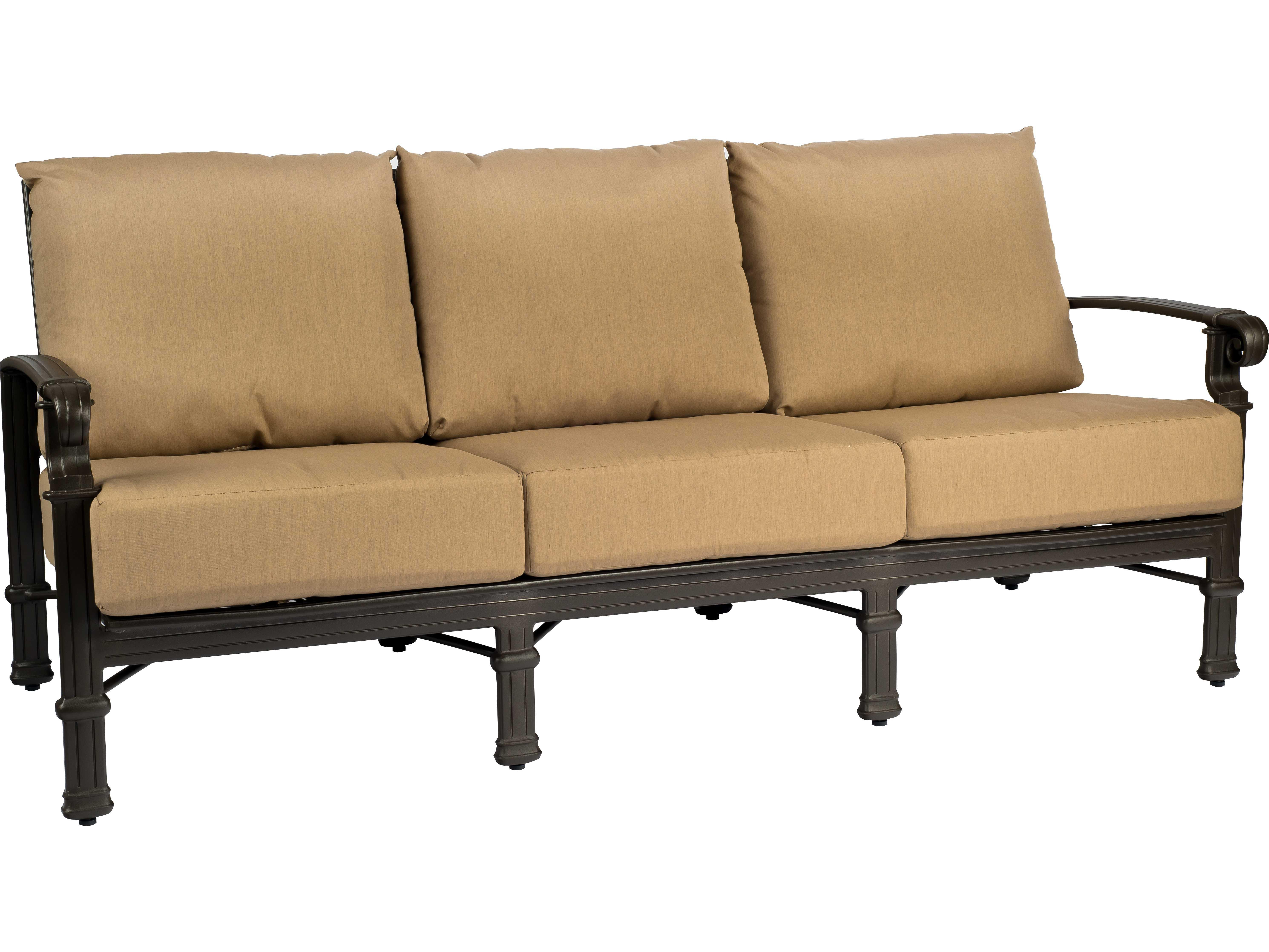 spartan sofa unique sofas and chairs woodard cast aluminum lounge set wrspartanlngeset3