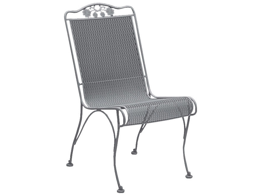 high back outdoor chair cushion covers graco brompton woodard briarwood side dining replacement cushions | 400002ch