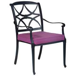 Stackable Metal Patio Chairs Aeron Chair By Herman Miller Manual Woodard Wiltshire Aluminum Dining 4q0417
