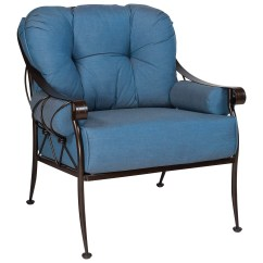 Patio Chair Repair Bariatric Commode Woodard Derby Lounge Replacement Cushions 4t0106ch