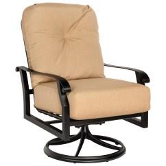 Lounge Chair Covers Spotlight Childs Bean Bag Woodard Cortland Swivel Rocking Replacement