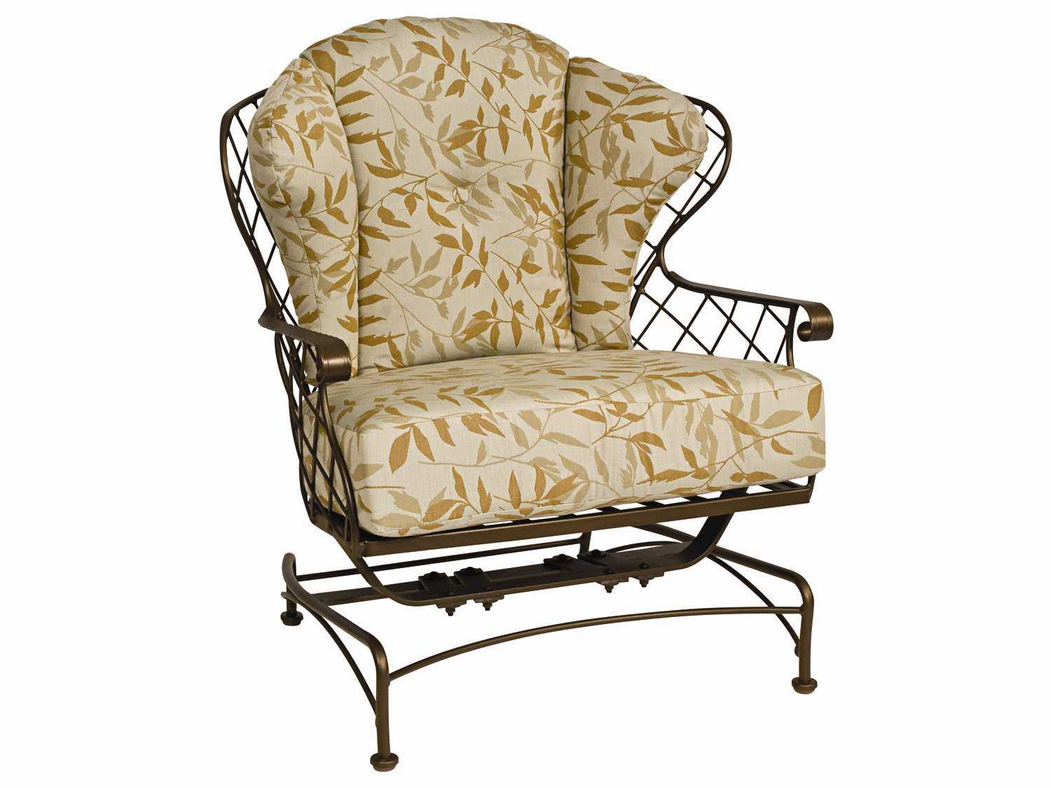 replacement chair covers for outdoor chairs john lewis deck woodard brayden cushion spring lounge