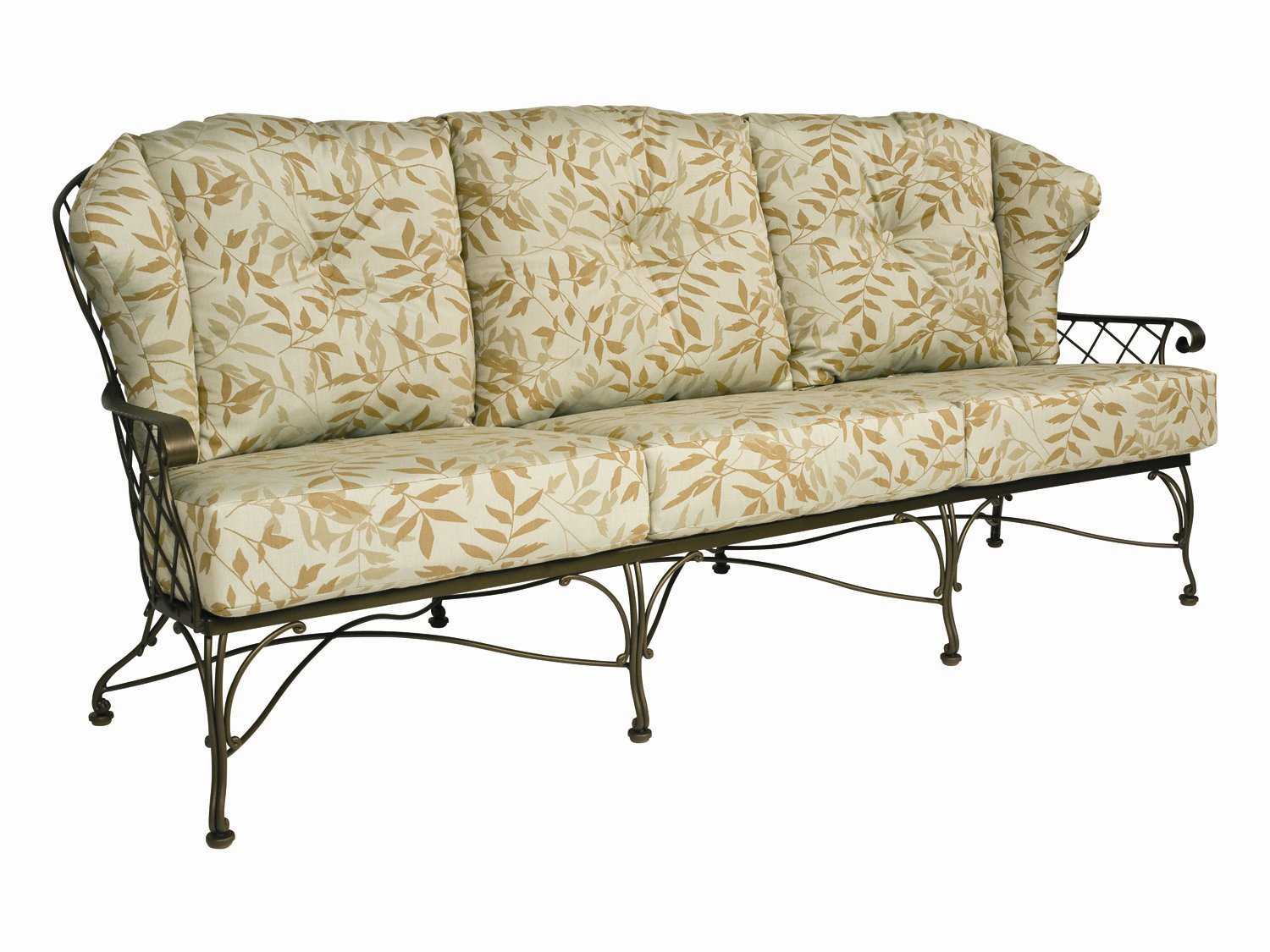 replacement cushions for sofa backs 2pc sectional chaise woodard brayden cushion 53w020ch