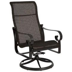 Round Wicker Chair Name Zero Gravity Chairs On Sale Woodard Belden Woven Weave Swivel Rocker