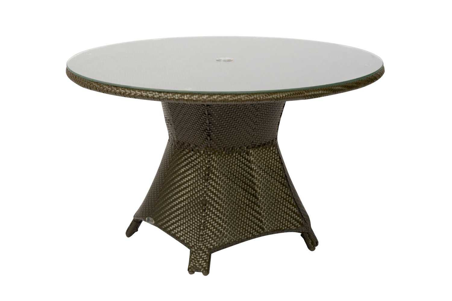 chair covers for sale in trinidad mushroom walmart woodard wicker 48 round glass top table with